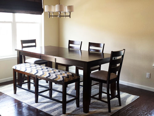 Reupholstered Dining Room Set Chairs