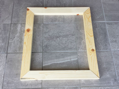 Building picture frames from scratch