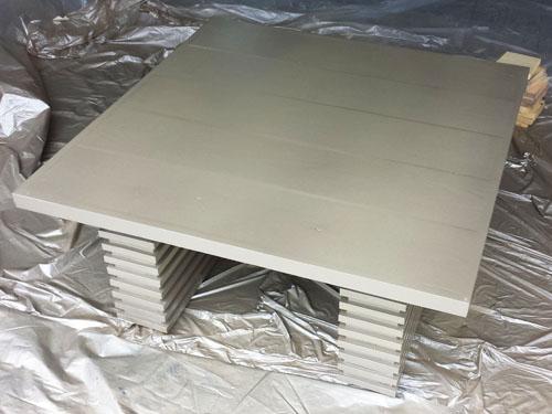 DIY low coffee table