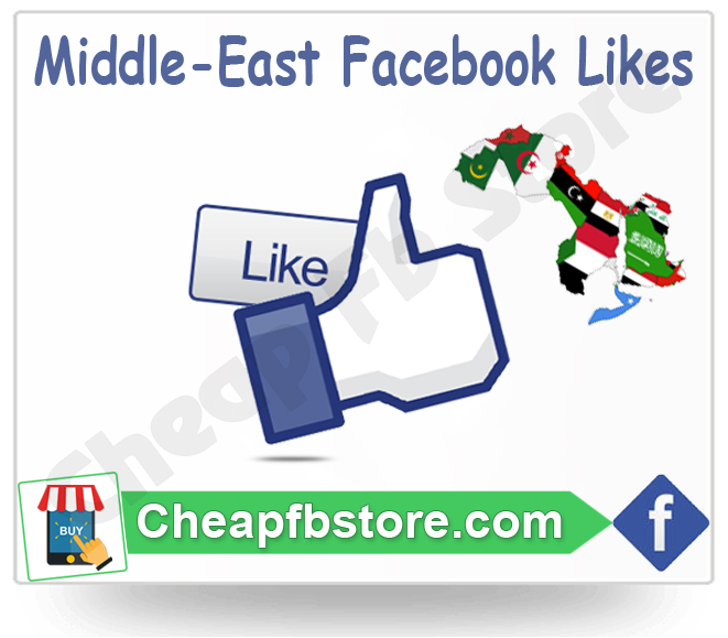 Buy Middle East Facebook Likes