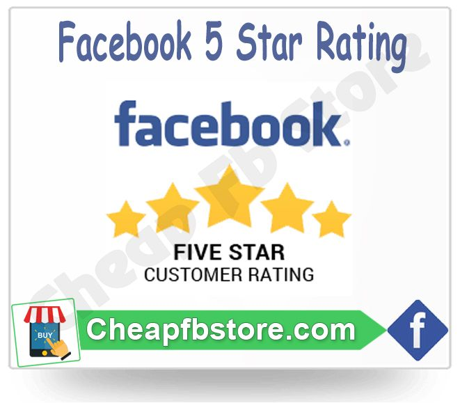 Facebook Fiver Star rating