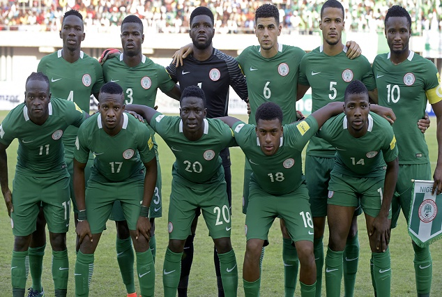 Super Eagles Show Support, As They Donated To Elderson, Akpeyi Weddings 4