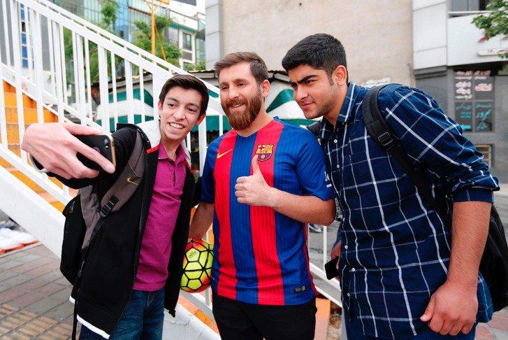 Reza Parastesh, Lionel Messi Lookalike Arrested In Iran 19