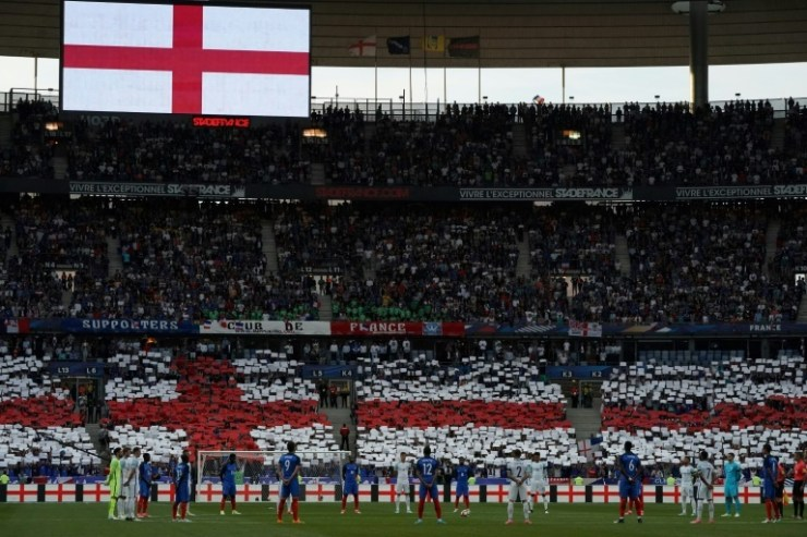 10-Man France Edge Out England In Stade de France Entertaining Friendly 4