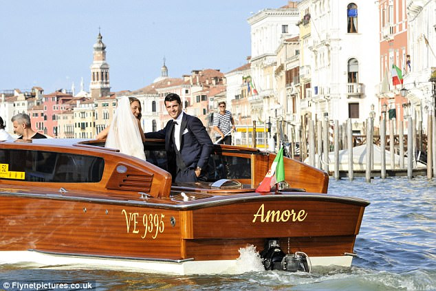 Morata Took A Break From Transfer Talks To Tie The Knot With Alice Campello 14