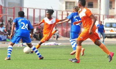 Winifred Eyebhokia's Strike Gives Sunshine Queens A 1-0 Win Over FC Robo Queens 4