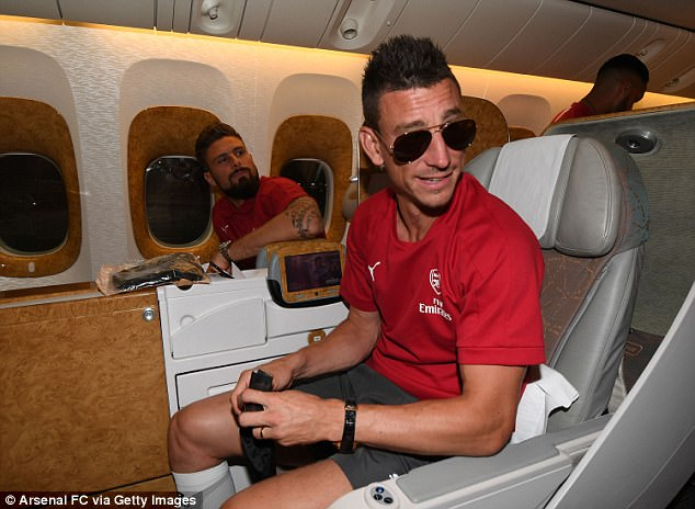 Arsenal Jet Out For Two-Week Pre-Season Tour Of Australia And China 19