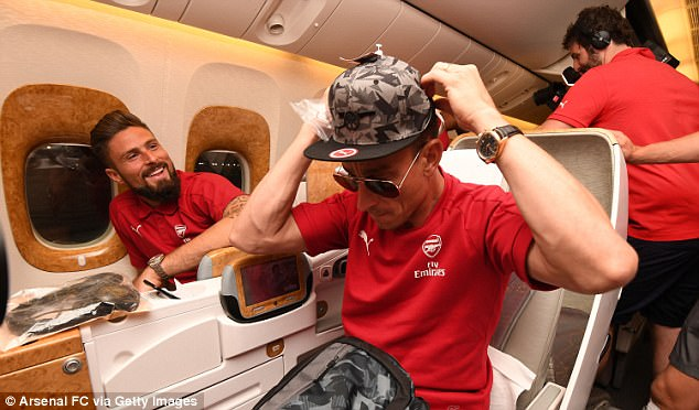 Arsenal Jet Out For Two-Week Pre-Season Tour Of Australia And China 18