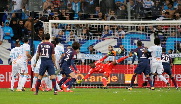 Neymar Sent Off In thrilling 'Le Classique' Clash, As Cavani Rescue PSG From First Loss 13