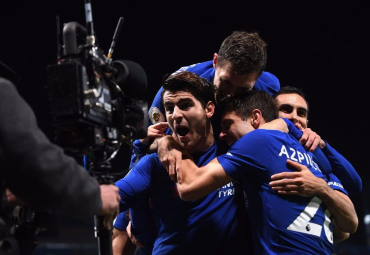 Morata Awesome Header End Chelsea's Tough Week With Dominant Win Over Hapless United 4