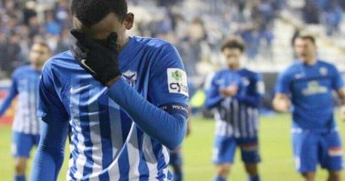 Shehu Abdullahi In Tear As He Bids Farewell To Anorthosis Famagusta