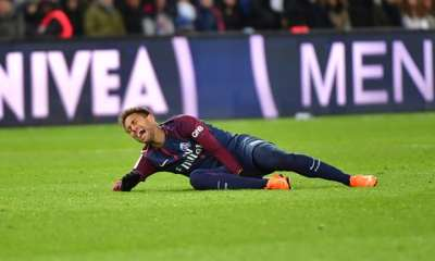 Expensive Injury : Neymar Stretchered Off In Tears And Could Miss Madrid Clash 7