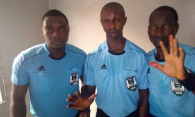 Sunshine Stars In Hot Mess After Fans Threw Objects At Referees 2