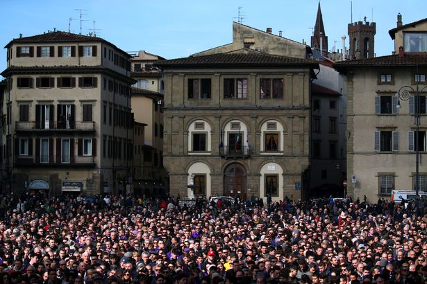 Davide Astori Funeral: Thousands Of Fans Pay Tribute 15