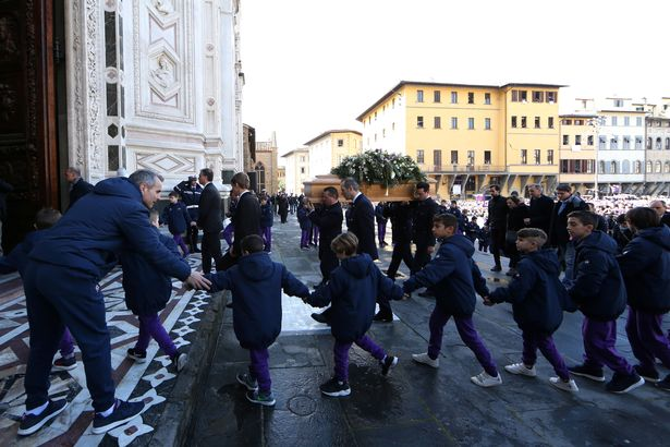 Davide Astori Funeral: Thousands Of Fans Pay Tribute 11