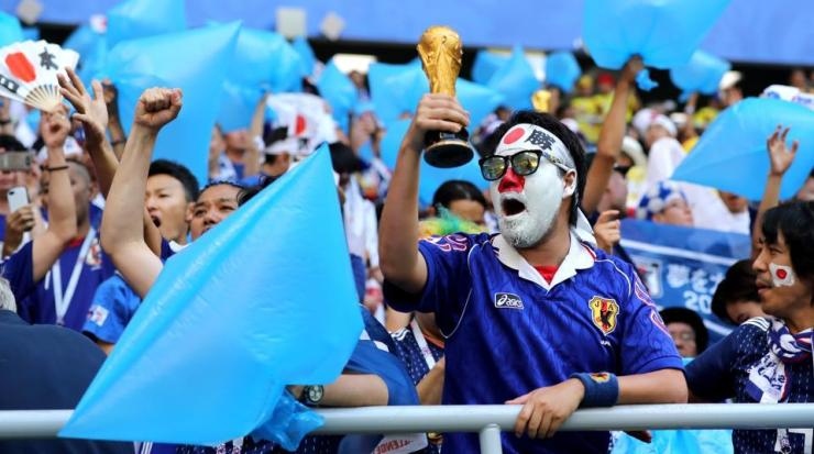World Cup 2018: Japans Fans Winning Hearts In Russia 7