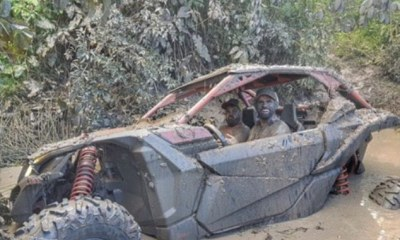 Summer Vacation : Costa Drives Through Dirty Mud, While Isco Feeds Swimming Pigs 4