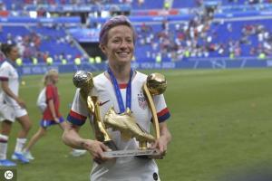 U.S. Women's Soccer Team Wins 2019 World Cup 16