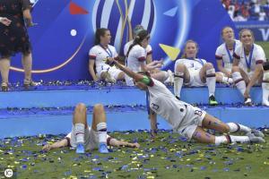 U.S. Women's Soccer Team Wins 2019 World Cup 12