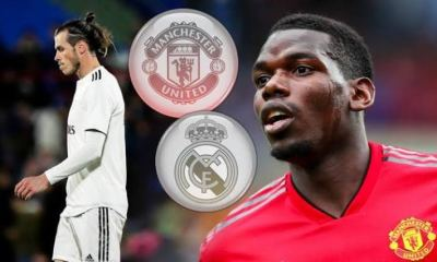 Real Madrid To Fund €150m Paul Pogba Pursuit From Gareth Bale Cash On 2
