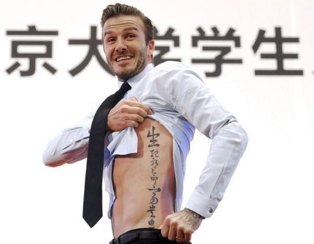 David Beckham Tattoos - The Special Meaning To Every One Of His InkDavid Beckham Tattoos - The Special Meaning To Every One Of His Ink