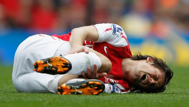 15 Of Top Most Injury Prone Footballers