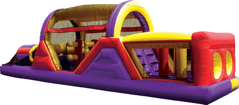 40 Foot Obstacle Bounce House