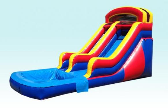 16ft Inflatable Water Slide