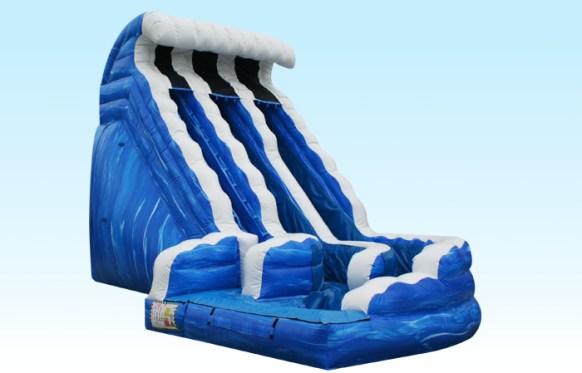 Ocean Wave Slide Inflatable
