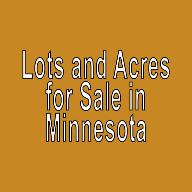 Buy Cheap Land in Minnesota