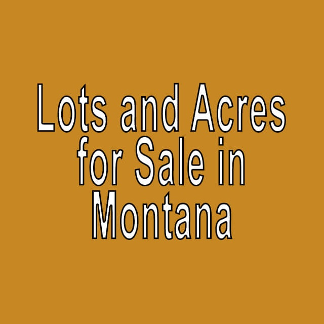 Buy Cheap Land in Montana