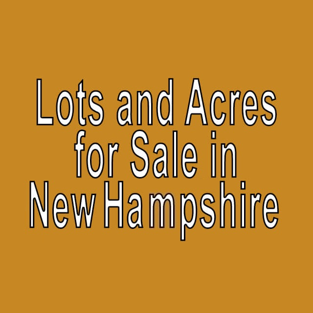 Buy Cheap Land in New Hampshire