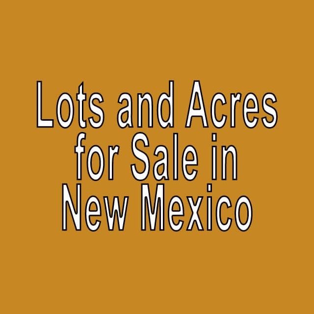Buy Cheap Land in New Mexico