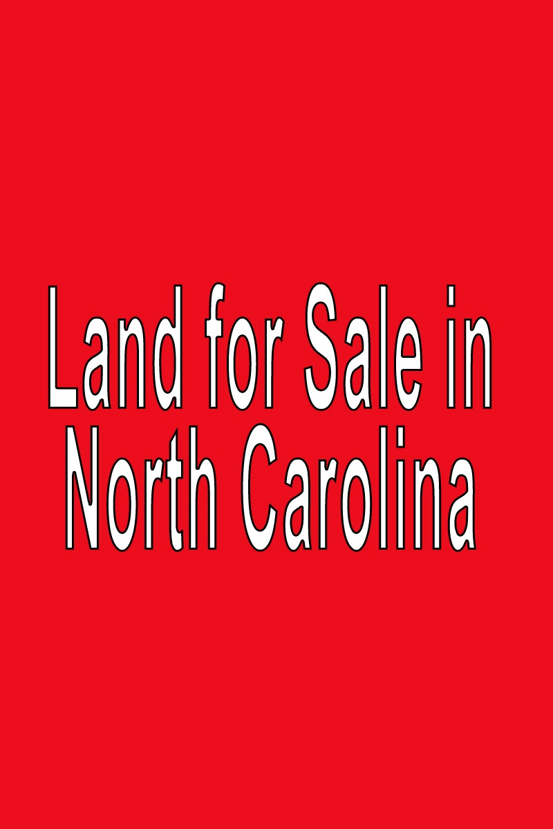 Buy Land in North Carolina