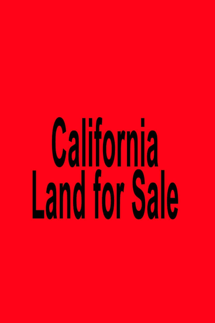 California Land for Sale