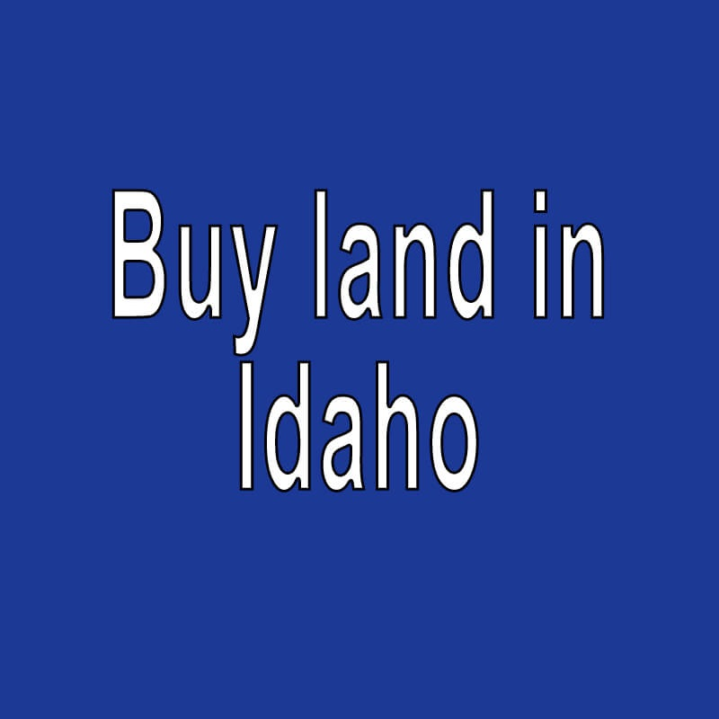 Land for Sale in Idaho