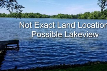 Possible Lakeview Land! Lake Nearby- Possible Lakeview Land