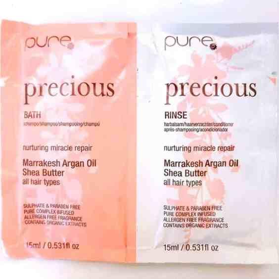 Pure Precious Shampoo and Conditioner 15ml