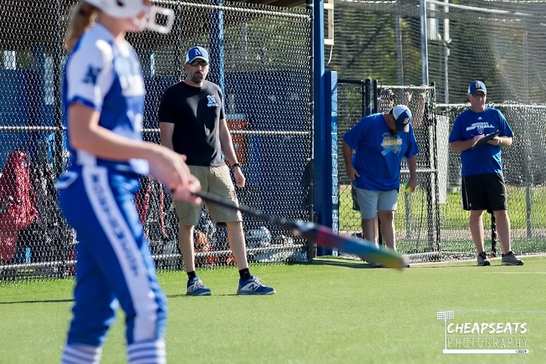Seckman vs Northwest softball