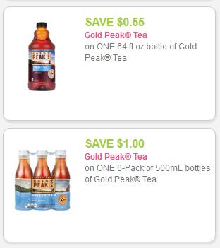 Gold Peak tea save