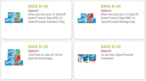 Ziploc Savings