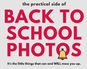 Back to school photo's