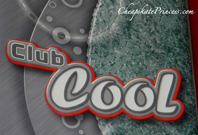 Club Cool drinks at Disney World Epcot