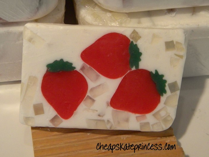 strawberry soap, Disney soap, the best soap, Disney Princess soap, Disney soap store, Basin soaps, what is Basin soap, Downtown Disney shopping, Downtown Disney soap store