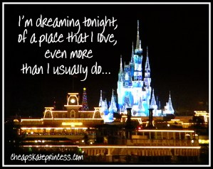 Cinderella Castle at Christmas, Dreaming tonight of a place I love, Disney at night, Disney World at night