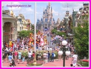 Disney's Main Street, Disney World Main Street, Disney World parade, Disney parade