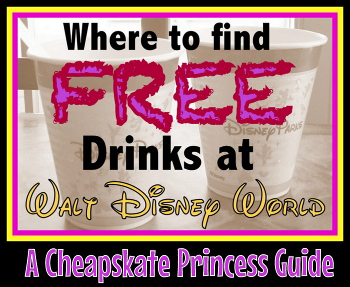 free drinks at Disney World Epcot Club Cool