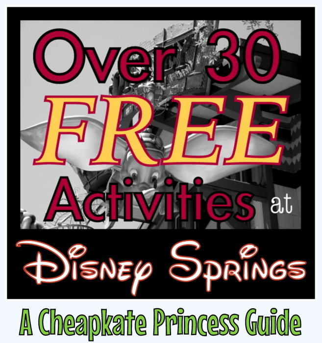 Free Activities in Downtown Disney Disney Springs