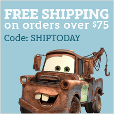 Disney Store free shipping promo, how to get free shipping at the Disney store, how to save money on shipping from the Disney Store
