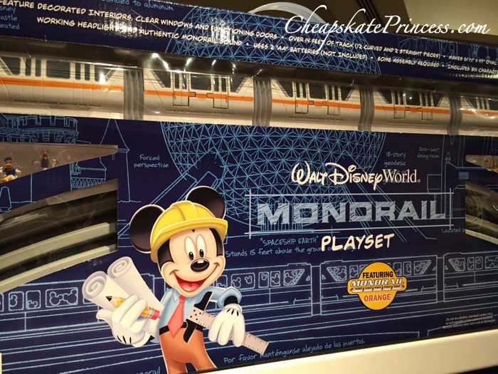 Mickey Mouse monorail playset